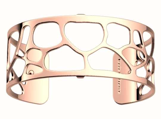 Les Georgettes 25mm Leopard Rose Gold Plated Bangle 7034664400000