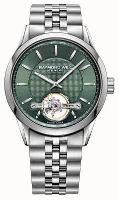 Raymond Weil Men's | Freelancer | automatic | Green Dial | 2780-ST-52001