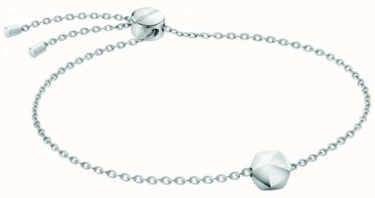 Calvin Klein Side   Women's Stainless Steel Bracelet KJ5QMB000300