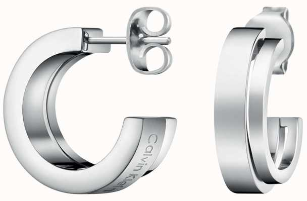 Calvin Klein Unite | Stainless Steel Hoop Earrings KJ6AME080100