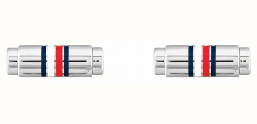 Tommy Hilfiger | Dressed Up | Men's Silver Cufflinks 2790214