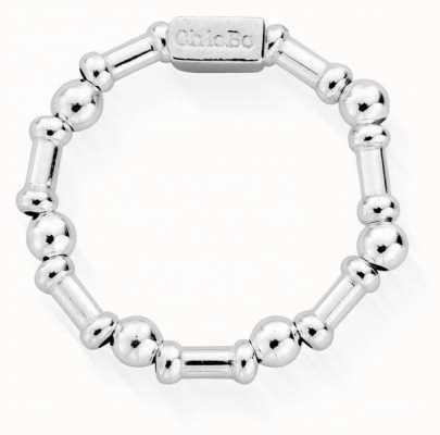 ChloBo Rhythm Of Water Ring | Sterling Silver | Medium SR2RHYTHM