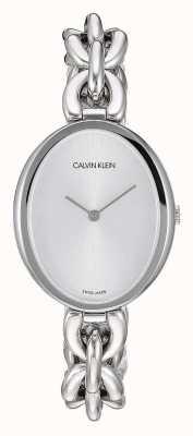 Calvin Klein   Women's Statement   Stainless Steel Chain Bracelet   K9Y23126