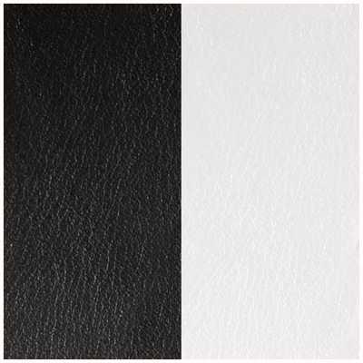 Les Georgettes 30mm Vinyl Insert | Earrings | Black/White 703218384M4000