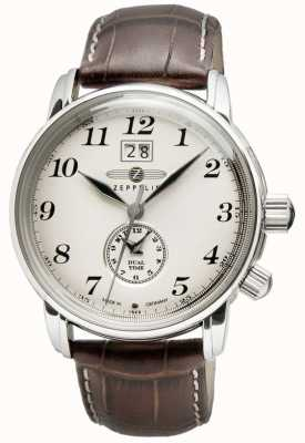 Zeppelin Graf Zeppelin Men Watch Brown Quartz 7644-5