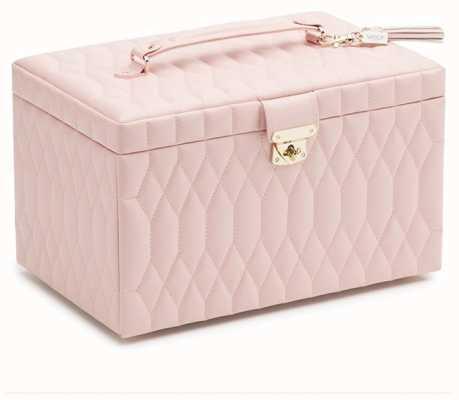 WOLF Caroline Rose Quartz Large Jewellery Box 329615
