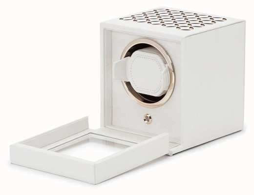 WOLF Chloe Cream Single Watch Winder With Cover 301853