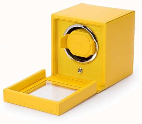 WOLF Cubs Yellow Single Watch Winder With Cover 461192