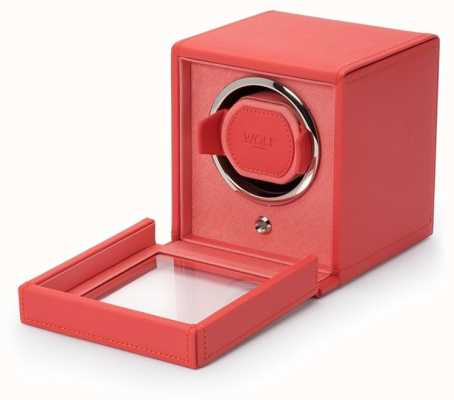 WOLF Cubs Coral Single Watch Winder With Cover 461142