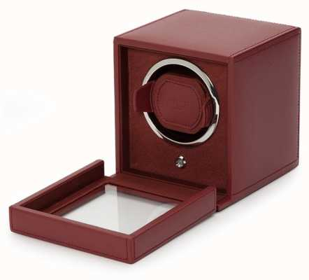 WOLF Cubs Bordeaux Single Watch Winder With Cover 461126