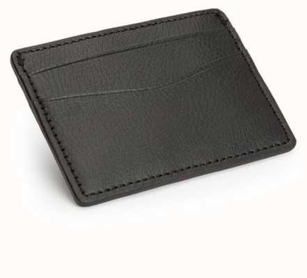 WOLF Blake Black Pebble Card Wallet 306002