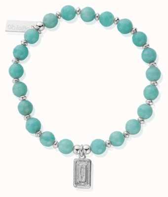 ChloBo Dream Guider   Amazonite Bead Bracelet SBA3034