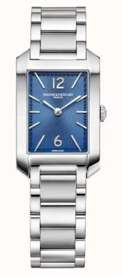 Baume & Mercier Hampton Rectangle | Women's | Stainless Steel | Blue Dial M0A10476