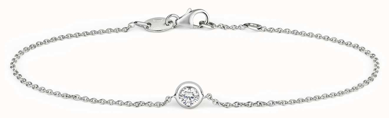 Treasure House 18k White Gold 0.20ct Diamond Bracelet BDQ030W