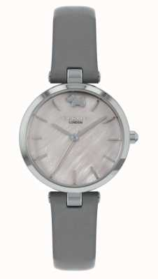Radley West View | Grey Leather Strap | Silver Dial RY2969