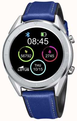Lotus SmarTime | Men's | Blue Leather Strap + Free Strap L50008/2