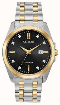 Citizen Corso Eco-Drive Two-Tone Watch BM7107-50E