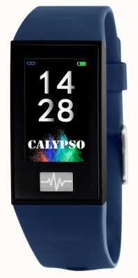 Calypso Unisex | Smartime | Blue Silicone Strap + Free Strap K8500/5
