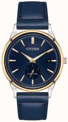 Citizen Eco-Drive Blue Leather Blue Dial Watch BV1114-18L