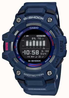 Casio G-SHOCK | G-SQUAD | Steptracker | Bluetooth | Blue GBD-100-2ER