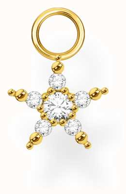 Thomas Sabo 18k Yellow Gold Single Star Earring Pendant EP002-414-14