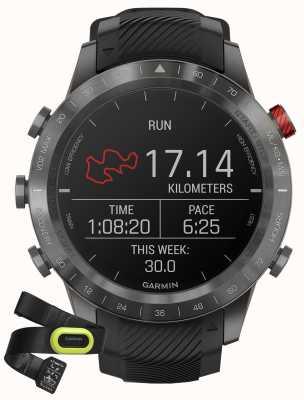Garmin MARQ Athlete Performance Edition   Black DLC Titanium   HRM-Pro 010-02567-21