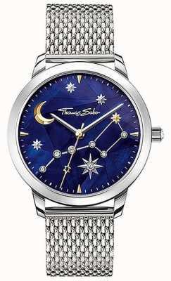 Thomas Sabo | Women's | Spirit Cosmo Starry Sky | Steel Mesh Bracelet | SET_WA0372-217-209-33