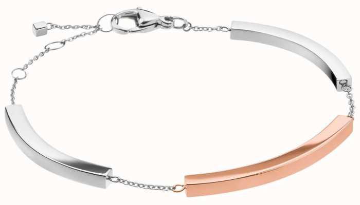 Calvin Klein Tinkle   Two-Tone Stainless Steel Bar Bracelet KJCTMB200100