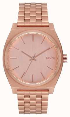 Nixon Time Teller | All Rose Gold | Rose Gold Bracelet | Rose Gold Dial A045-897-00