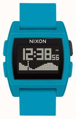 Nixon Base Tide   Blue Resin   Digital   Blue Silicone Strap A1104-2556-00