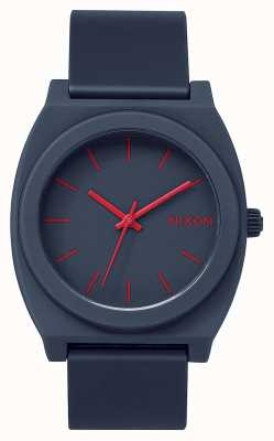 Nixon Time Teller P | Matte Navy | Navy Silicone Strap | Navy Dial A119-692-00