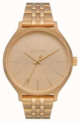 Nixon Clique | All Gold | Gold IP Steel Bracelet | Gold Dial A1249-502-00