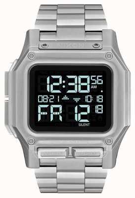 Nixon Regulus SS | Black | Digital | Stainless Steel Bracelet | A1268-000-00