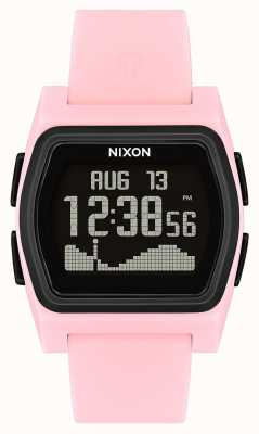 Nixon Rival | Pink / Black | Digital | Pink Silicone Strao A1236-2531-00