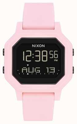 Nixon Siren   Pale Pink   Digital   Pink Silicone Strap A1311-3154-00