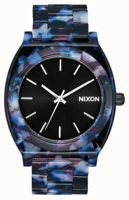 Nixon Time Teller Acetate   Black / Multi   Black Dial A327-2336-00