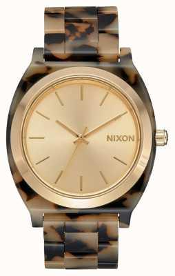 Nixon Time Teller Acetate   Cream Tortoise   Cream Dial A327-3346-00