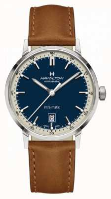 Hamilton American Classic    Intra-Matic Automatic   Brown Leather H38425540