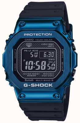 Casio G-Shock Blue Tough Solar Blue IP Plated GMW-B5000G-2ER