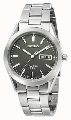 Seiko Mens Titanium SGG599P1