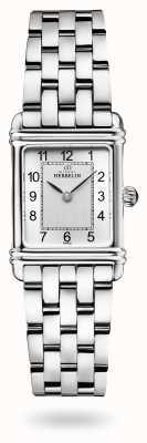 Michel Herbelin Art Déco | Stainless Steel Bracelet | Silver Dial 17478/22B2