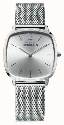 Michel Herbelin City | Silver Dial | Stainless Steel Mesh Bracelet 16905/11B