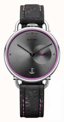 Baume & Mercier BAUME | Eco-Friendly Quartz | Grey Dial | Black Cork Strap M0A10604