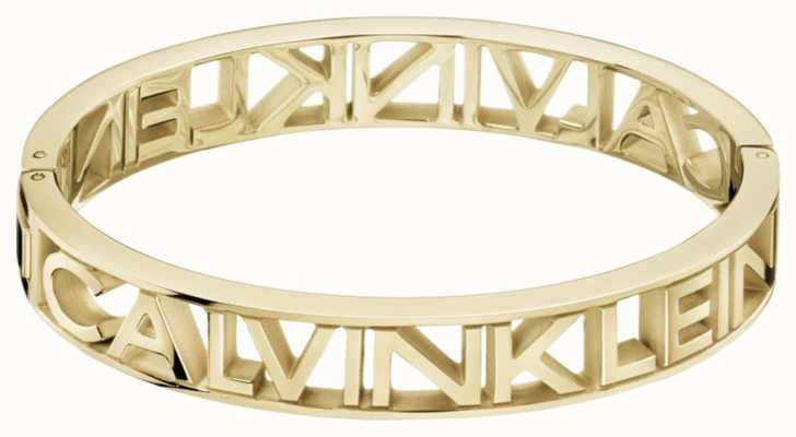 Calvin Klein MANIA | Gold PVD Steel | Bangle KJCSJD10010M