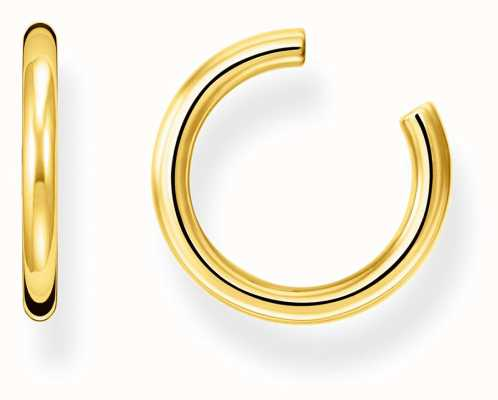 Thomas Sabo Gold Plated Single Hoop Ear Cuff EC0026-413-39