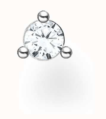 Thomas Sabo Sterling Silver Single Stud Earring | White Stones H2197-051-14