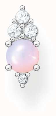 Thomas Sabo Sterling Silver Vintage Single Stud Earring | Shimmering Pink Opal Effect H2181-166-7