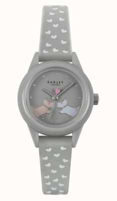 Radley Watch It! | Women's Grey Silicone Strap | Grey Dial RY21257