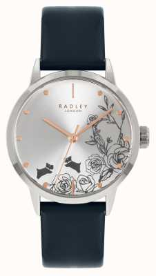 Radley | Women's | Blue Leather Strap | Silver Dial | RY21241A