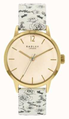 Radley Women's Cream Pattern Leather Strap | Cream Dial RY21248A